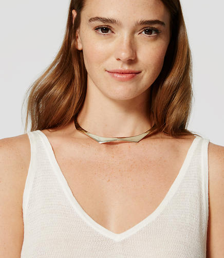 Image of Modern Collar Necklace
