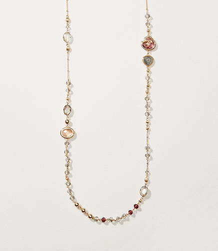Image of Mixed Stone Station Necklace