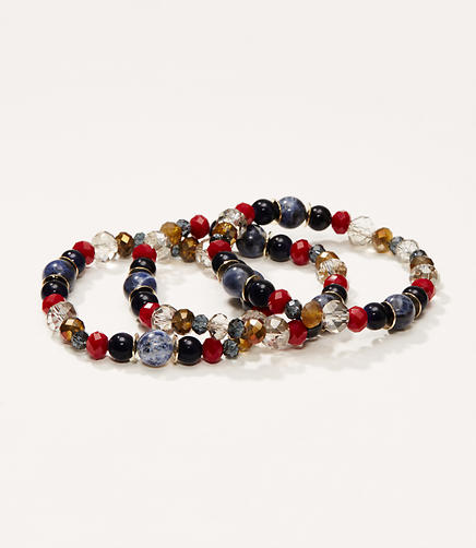 Image of Harbor Stretch Bead Bracelet Set