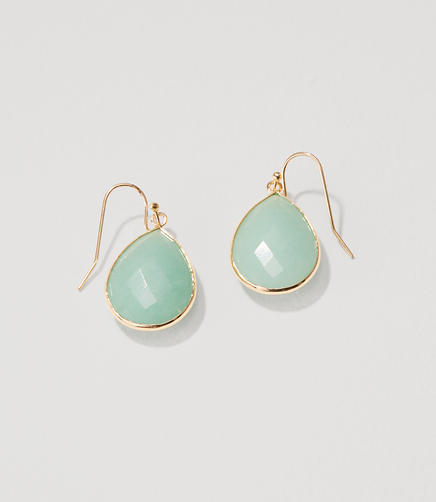 Image of Stone Drop Earrings