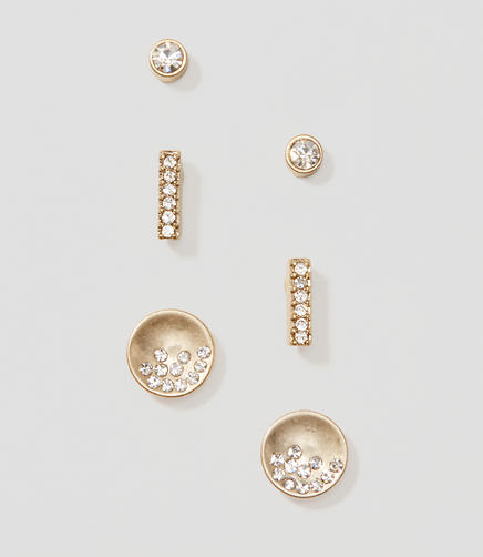 Image of Treasure Stud Earring Set
