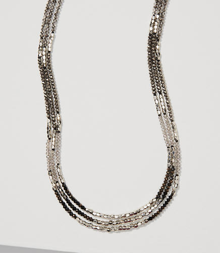 Image of Monochrome Beaded Necklace