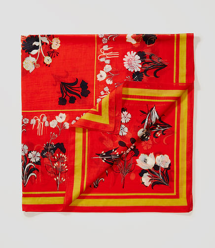 Image of Valley Floral Scarf
