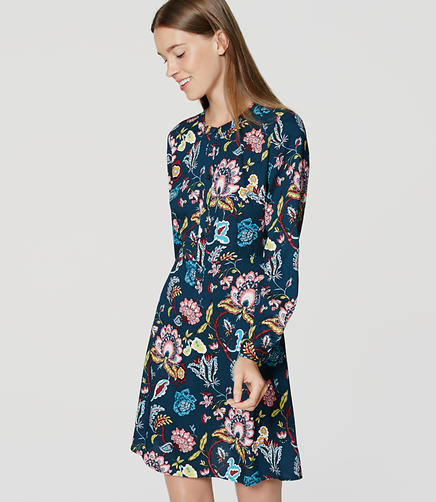 Image of Petite Garden Shirtdress