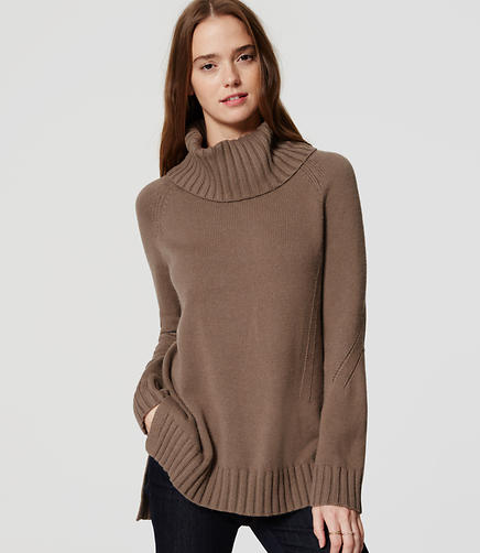 Image of Cowl Sweater Tunic