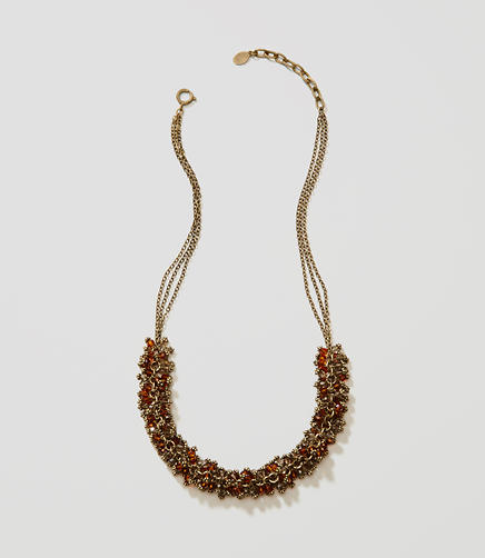Image of Clustered Bead Necklace