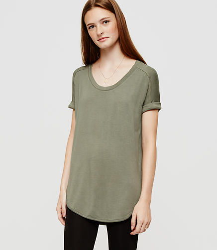 Image of Lou & Grey Signaturesoft Shirttail Tee