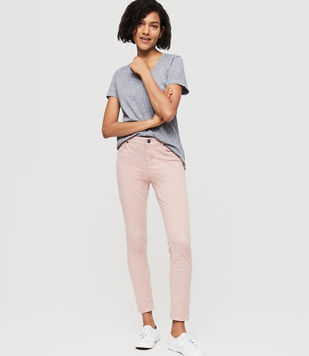 Image of Lou & Grey Brushed Twill Skinny Jeans