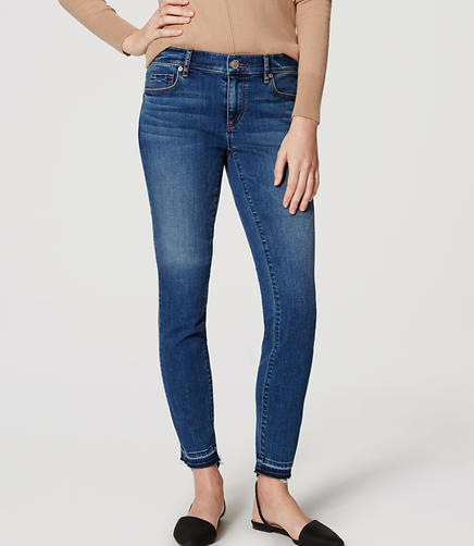 Image of Petite Modern Skinny Jeans in Medium Original Enzyme Wash