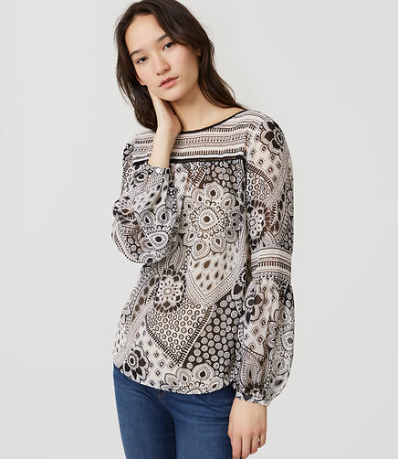 Image of Petite Gypsy Rose Blouse