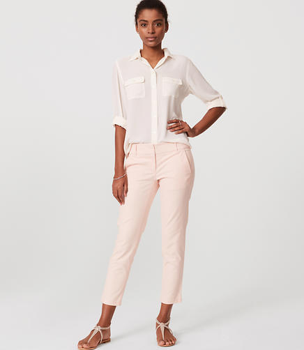 Image of Cropped Skinny Chinos