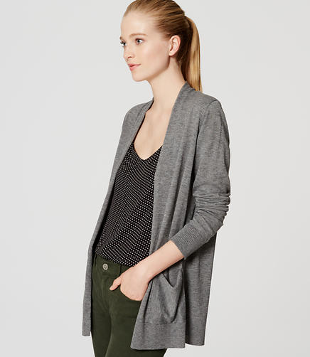 Image of Open Pocket Cardigan