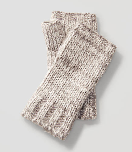 Image of Marled Fingerless Gloves