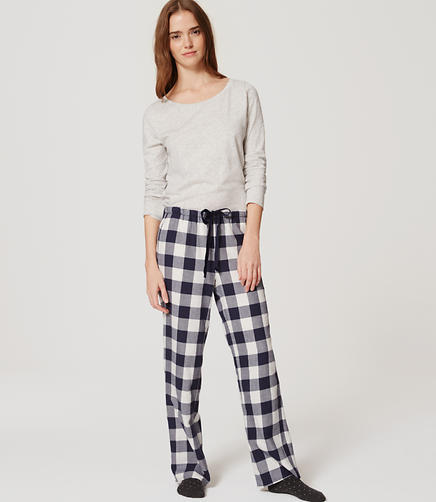 Image of Plaid Sleep Pants