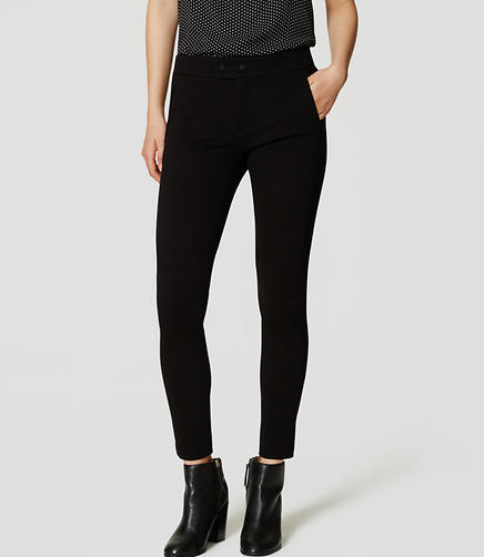 Image of Petite Knit Zip Pocket Pants
