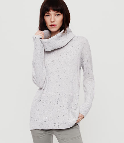 Image of Lou & Grey Speckled Cowl Sweater
