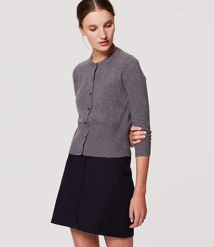 Image of Petite 3/4 Sleeve Cardigan