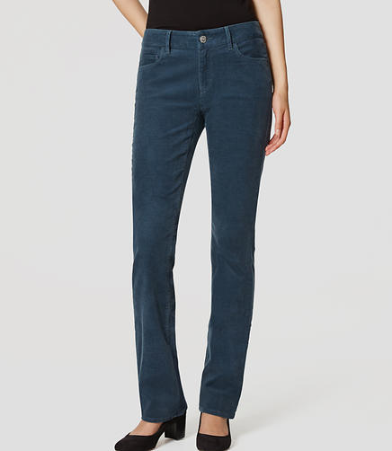 Image of Petite Curvy Boot Cut Corduroy Pants