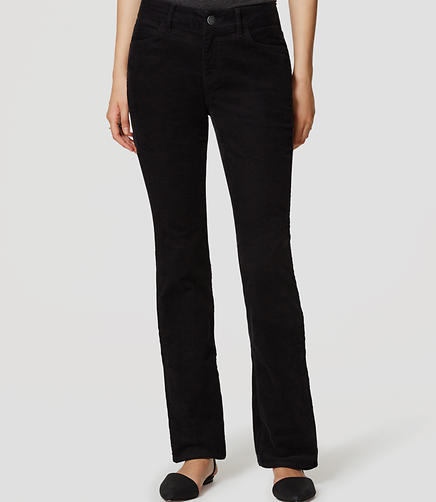 Image of Tall Curvy Boot Cut Corduroy Pants
