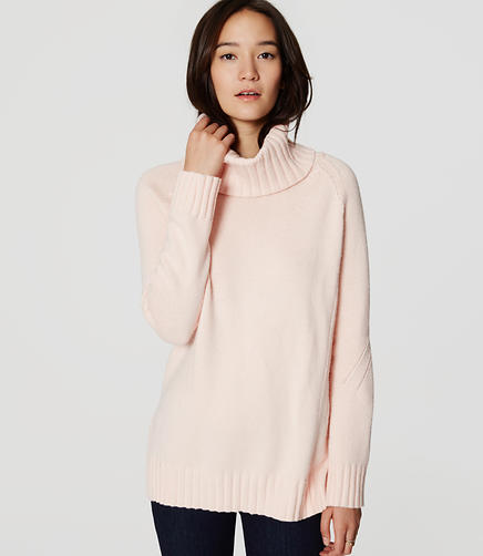 Image of Petite Cowl Sweater Tunic