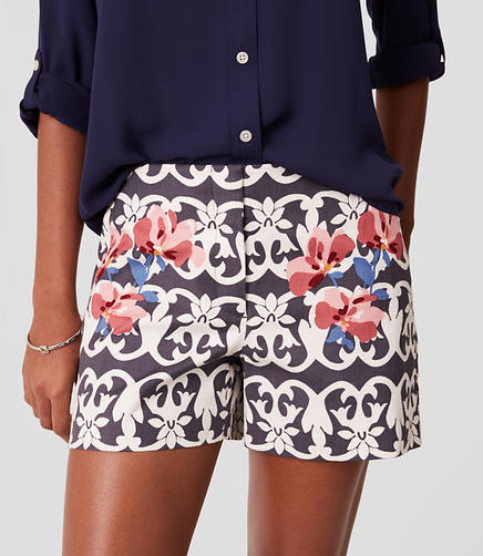 Image of Vineyard Stripe Riviera Shorts with 4