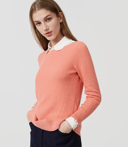 Image of Stitchy Boatneck Sweater
