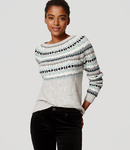 Image of Fairisle Sweater