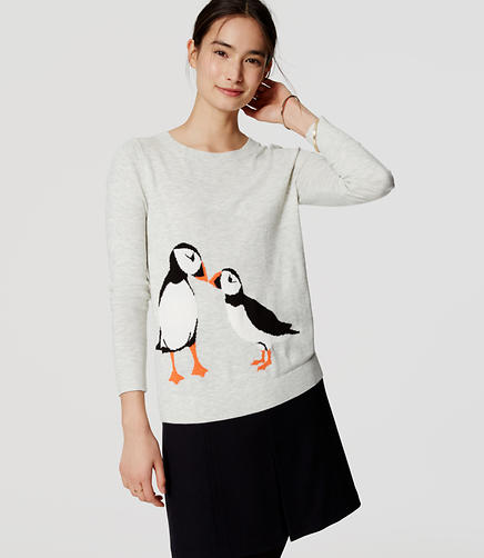 Image of Petite Puffin Sweater