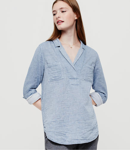 Image of Lou & Grey Doubleface Chambray Palette Popover