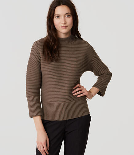 Image of Relaxed Ribbed Sweater