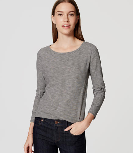 Image of Striped Shirttail Tee