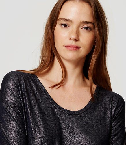Image of Shimmer Drapey Tee