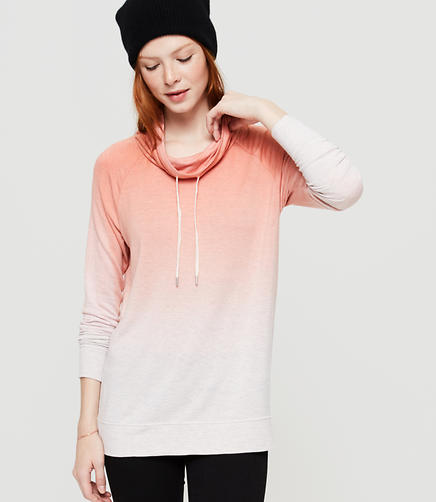 Image of Lou & Grey Ombre Signaturesoft Drawstring Tunic