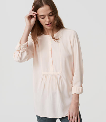 Image of Petite Bib Shirt