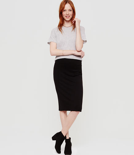 Image of Lou & Grey Signaturesoft Pencil Skirt