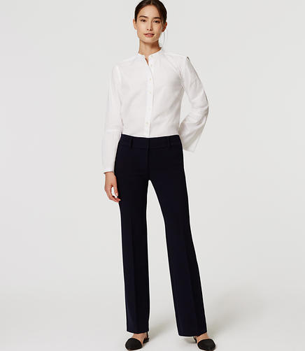Image of Doubleface Trousers in Marisa Fit with 31