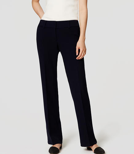 Image of Doubleface Trousers in Julie Fit with 31
