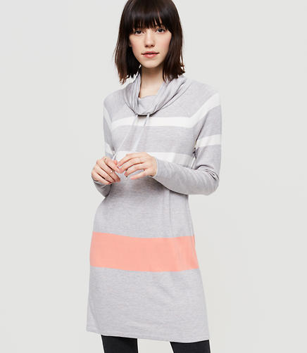 Image of Lou & Grey Striped Signaturesoft Drawstring Dress