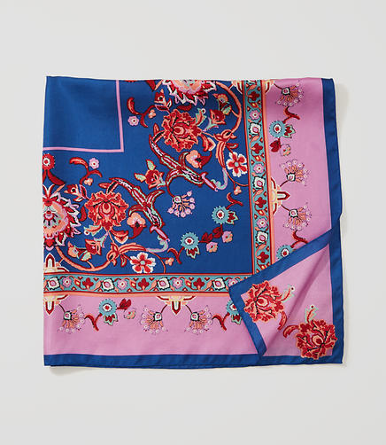 Image of Enchanted Square Silk Scarf