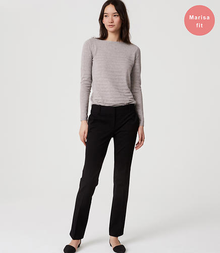 Image of Bi-Stretch Straight Leg Pants in Marisa Fit