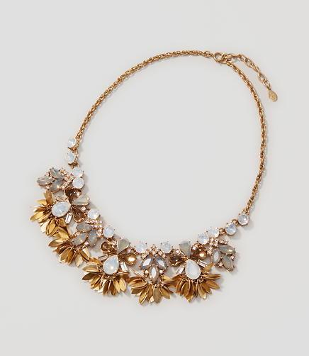 Image of Crystal Leaf Necklace