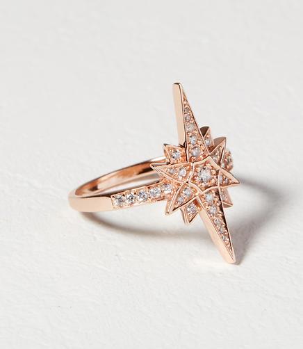 Image of Shashi Hannah Starburst Ring