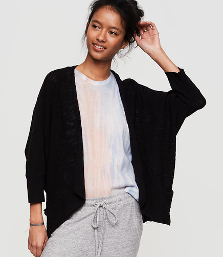 Image of Lou & Grey Texturist Cocoon Cardigan