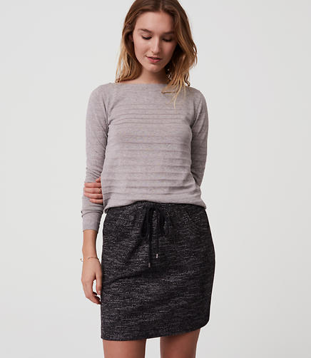 Image of Cozy Drawstring Skirt