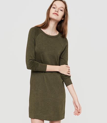 Image of Lou & Grey Signaturesoft Sweatshirt Dress