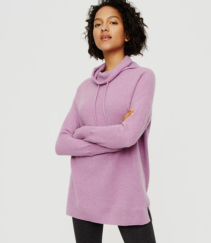 Image of Lou & Grey Cashmere Drawstring Sweater