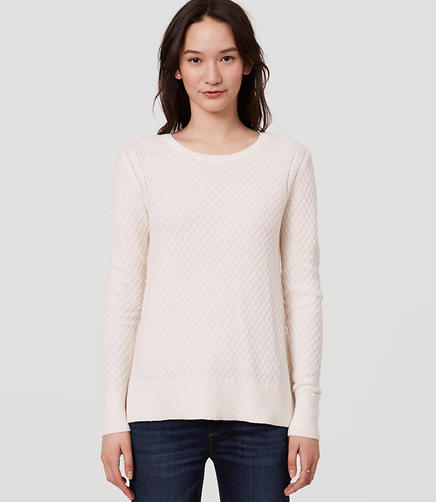 Image of Diamond Knit Sweater