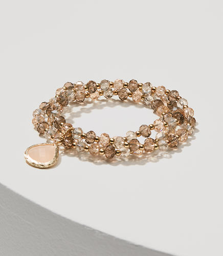 Image of Stone Stacked Stretch Bracelet