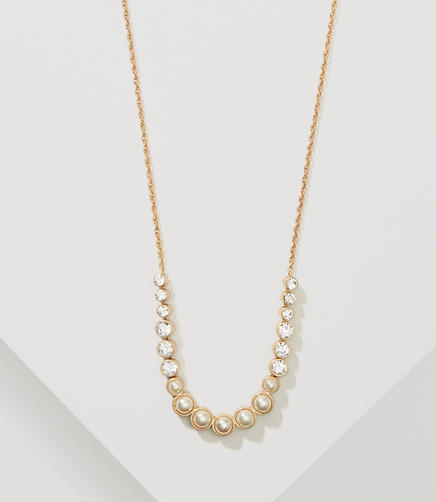 Image of Pearlized Pendant Necklace