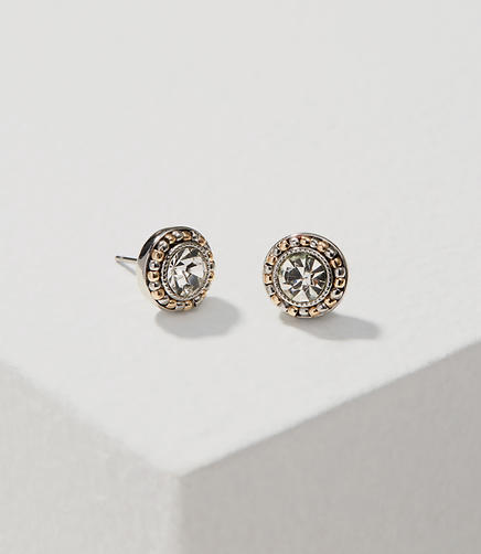 Image of Mixed Metallic Stud Earrings